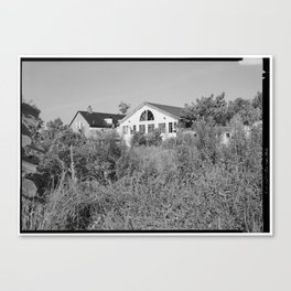 Jacob Tome Institute, Monroe Hall, Tome Road, Port Deposit, Cecil County, MD Canvas Print
