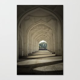 Arched colonnade Canvas Print