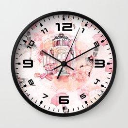 Flying fashion Wall Clock