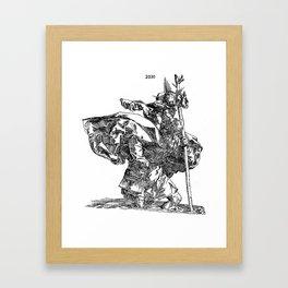 St. Christopher Framed Art Print