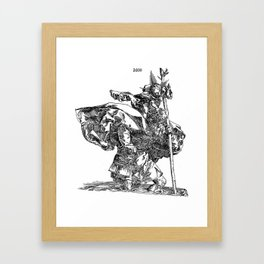 St. Christopher Framed Art Print
