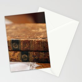 Antique Books Stationery Cards