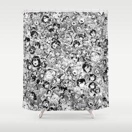 Manga ahegao Shower Curtain