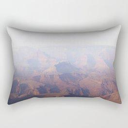 Smoky Hazy Days in the Grand Canyon Rectangular Pillow