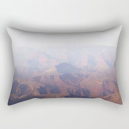 Smoky Hazy Days in the Grand Canyon Rectangular Pillow