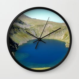 seven rila lakes Wall Clock