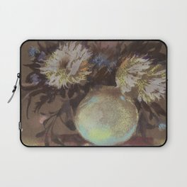 Asters. Bouquet in a Vase. Flowers Laptop Sleeve