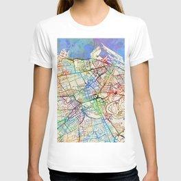 Edinburgh Street Map T-shirt