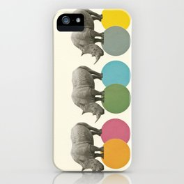 Rambling Rhinos iPhone Case