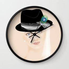 Fascinators: Fedora Wall Clock
