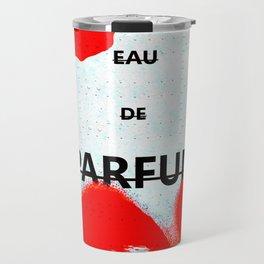 Parfum Box Red Splash Travel Mug