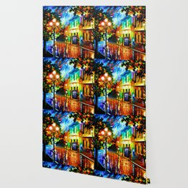 Tardis Art And The Light Street Wallpaper