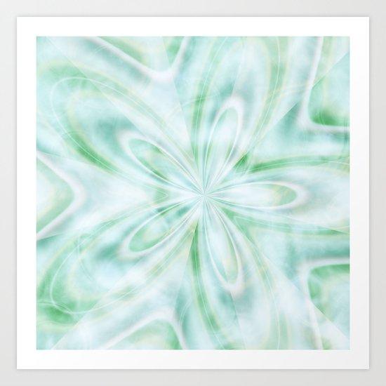 Seaspray Fractal Art Print