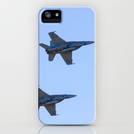 RAAF FA-18 Hornets - Formation Flying iPhone Case