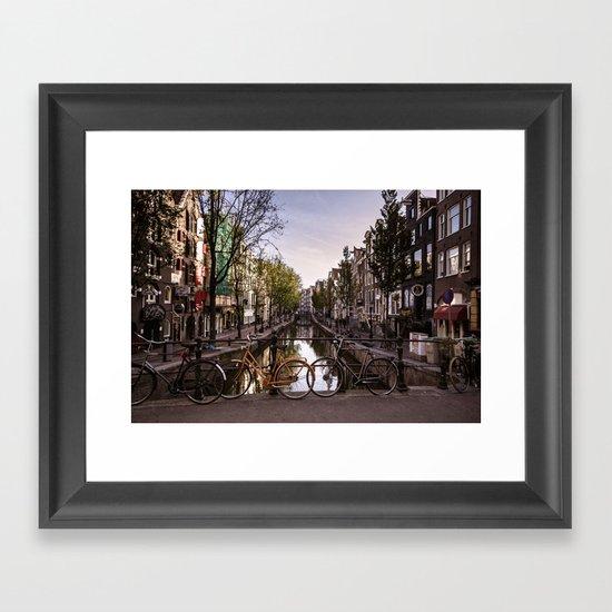 Early Morning, Amsterdam Framed Art Print