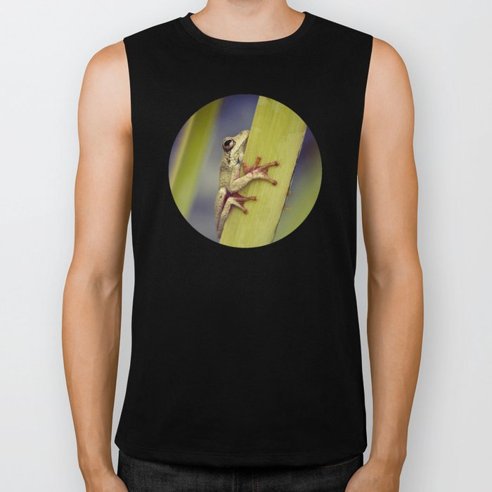 Arum lily frog - photography Biker Tank
