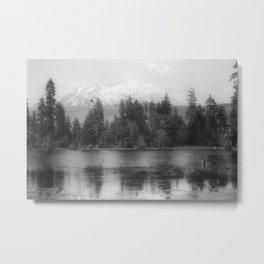 View of Mount Shasta Metal Print
