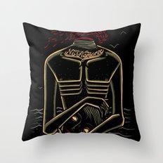 the stranger - camus Throw Pillow