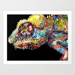 Chamaleon Art Print