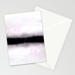 abstract landscape Stationery Cards