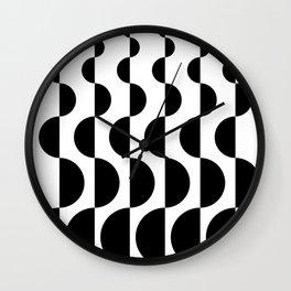 ROUND_WAVES Wall Clock
