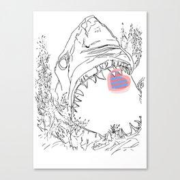 Ocean Reprise  Canvas Print