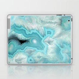 Aqua Sea Stone Laptop & iPad Skin