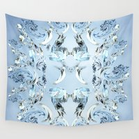 crystals Wall Tapestries featuring Crystals by Armin