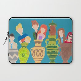 scoobynatural scooby supernatural cross over Laptop Sleeve