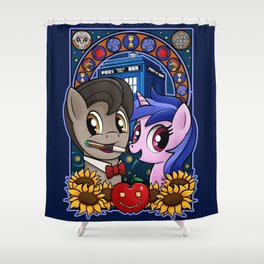 Ponies are Cool Shower Curtain