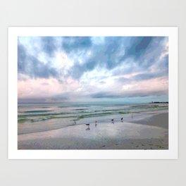 Beach #5 Art Print