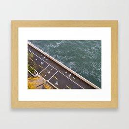 Bike Path Framed Art Print