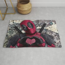 Dead pool - Sweet superhero Rug