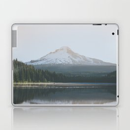 Trillium Lake Sunrise - Nature Photography Laptop & iPad Skin