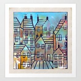 Home Sweet Home  by Sam Crowe Art Print