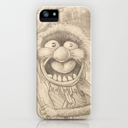 Animal in Pencil iPhone Case