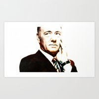 frank underwood Art Prints featuring Frank Underwood by Sunli
