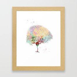 Purkinje Neuron Framed Art Print