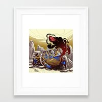 soul eater Framed Art Prints featuring soul eater by takcooper