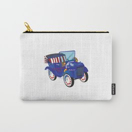 4 Th July Car Carry-All Pouch