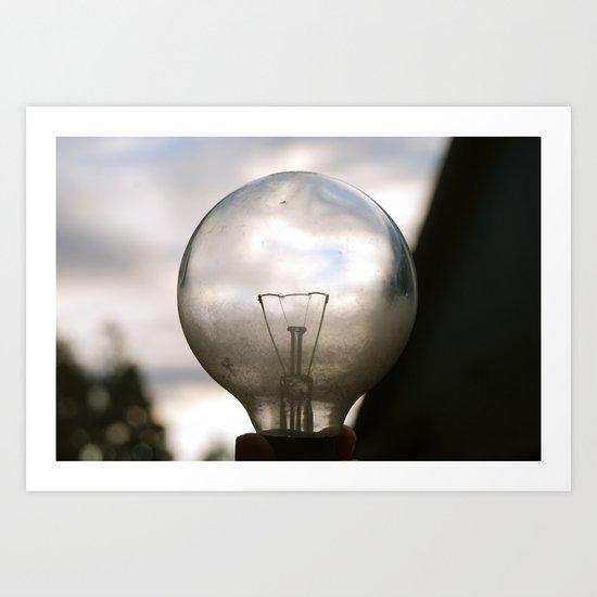 Light Up My World Art Print