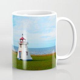 Long Bridge and Tiny Lighthouse Coffee Mug