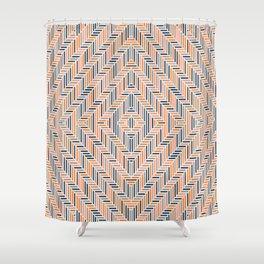 Herring Cream Shower Curtain