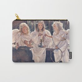 Reproduction Candle in the wind Steve Hanks Carry-All Pouch