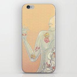 Aquarius Lady iPhone Skin