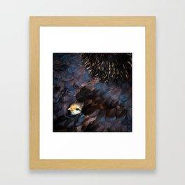 Safe Inside Framed Art Print