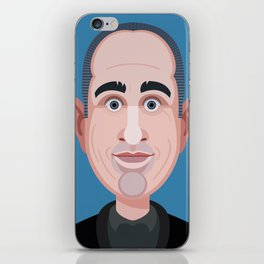 Comics of Comedy: Jerry Seinfeld iPhone Skin