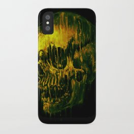 Melting Skull iPhone Case
