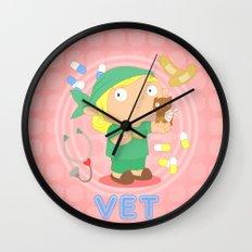 Vet Wall Clock