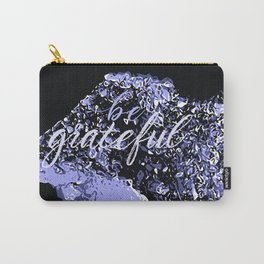 Happy Amethyst Carry-All Pouch